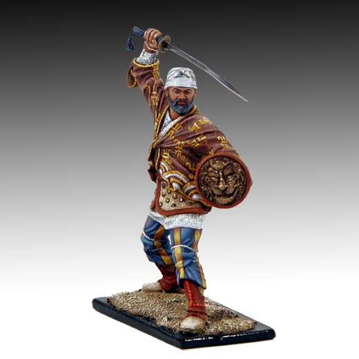 Chinese warrior with Sword XVI c. lead soldiers, toy soldiers ...